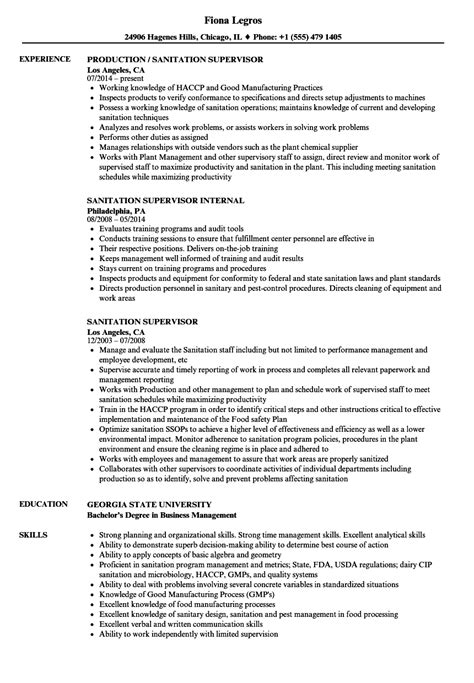 sanitation worker sle resume housekeeping aide cover letter