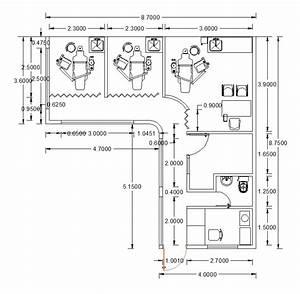 CAD layouts of dental clinics - CADblocksfree -CAD blocks free