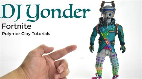 Dj Yonder  Fortnite Battle Royale (polymer Clay Tutorial