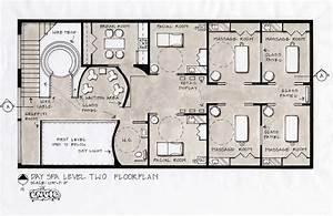 spa floor plans Spa Design Concept, Fifth Avenue, New