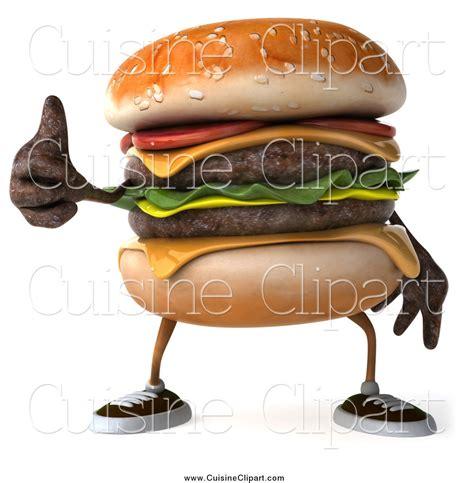 3d cuisine royalty free cheeseburger character stock cuisine designs