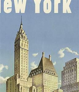 New York Poster : vintage poster of new york tourism poster travel old maps and vintage prints ~ Orissabook.com Haus und Dekorationen