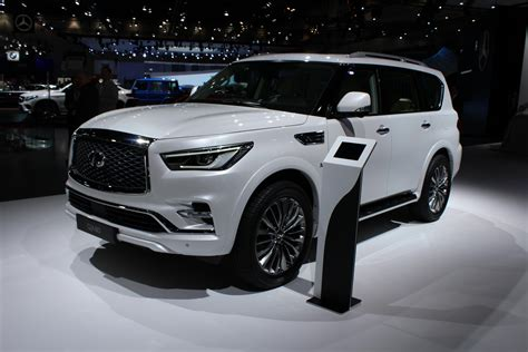 2018 Infiniti Qx80 Suv Is A Deluxe Dubai Debut Roadshow