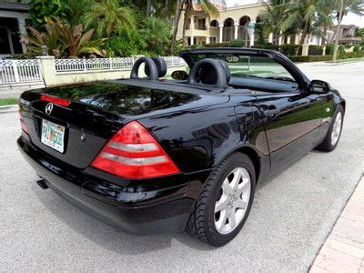 I have read all of the similar posts & they were not the same symptoms. Find used Florida 99 SLK 230 Kompressor Convertible 54,455 Orig Miles Clean Fax No Reserve in ...