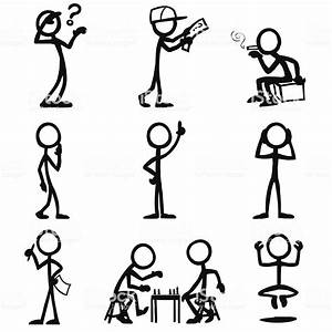 Stick Figure People Thought Stock Vector Art  U0026 More Images