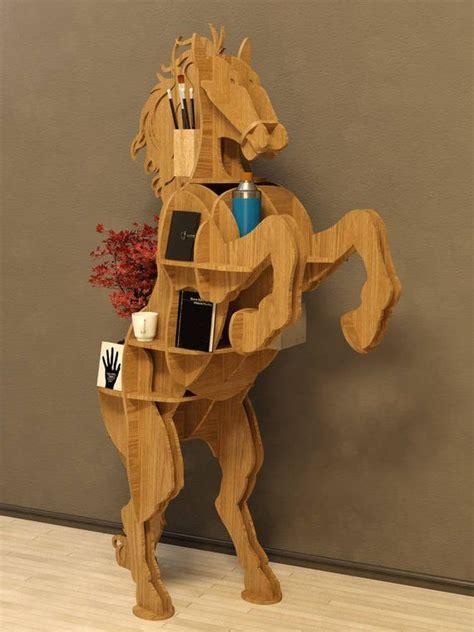 horse table plan vector fileanimals cnc decoration
