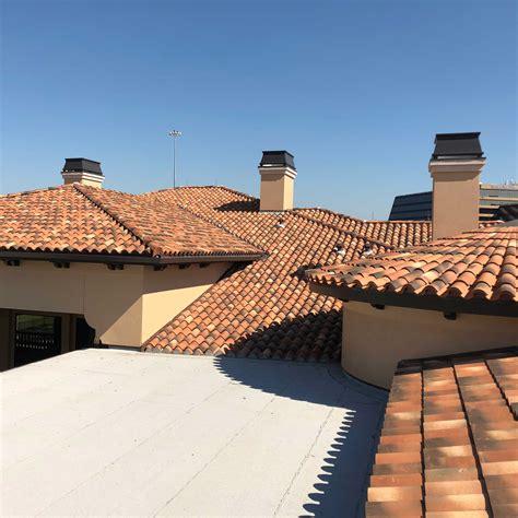 clay tile roofing metal roofing metal gutters houston