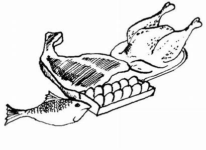 Clipart Meat Clip Fish Protein Steak Beef