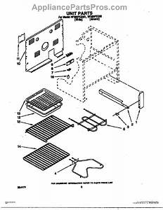 Parts For Whirlpool Rf365pxxn2  Unit Parts