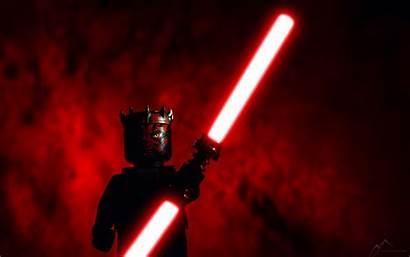 Wars Star Lightsaber Maul Darth Wall Background