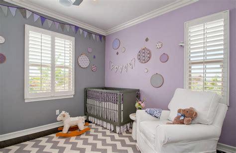 des idées de chambres pour bébé décorées avec la couleur