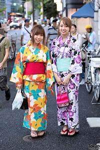 Japanese, Yukata, Pictures, In, Harajuku, At, Jingu, Gaien, Fireworks, Festival