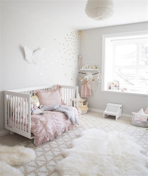ella 39 s pink and gold toddler room winter interiors for children