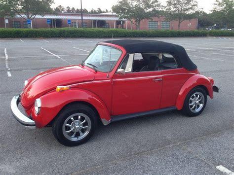 classic  vw super beetle karmann convertible rebuilt