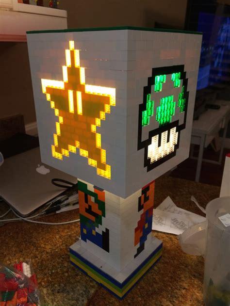 impressive   light  lego super mario lamp