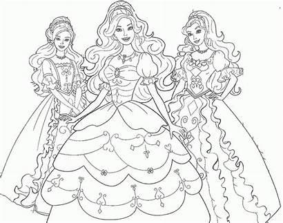 Hitam Gambar Putih Princess Sketsa Kartun Mewarnai