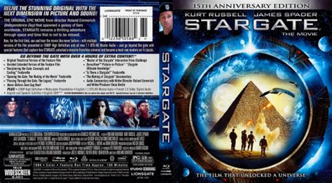 stargate dvd covers labels  covercity