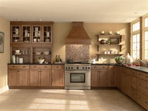 Mid Continent Cabinets Concord by Rustic Alder Concord Harvest Midcontinent Cabinetry