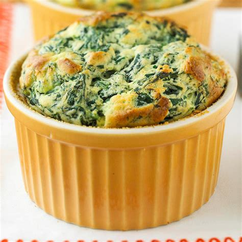 spinach souffle spinach souffles