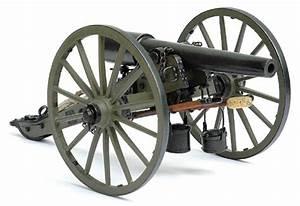 PARROT RIFLE CANNON, 10-POUNDER, American civil war