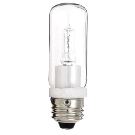 satco s3473 100w 120v t10 halogen light bulb bulbamerica
