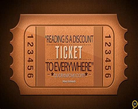 reading   discount ticket   mary schmich