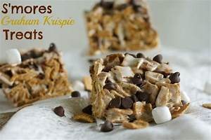 S'mores Graham Krispie Treats Recipe