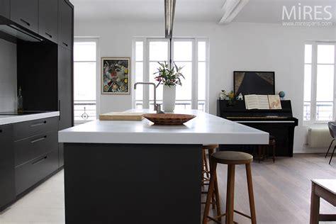 cuisine americaine moderne cuisine ouverte moderne c0495 mires