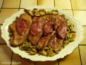 cuisiner le foie de veau foie de veau au bacon et aux chignons recette iterroir
