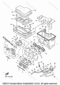 Yamaha Snowmobile 2004 Oem Parts Diagram For Intake