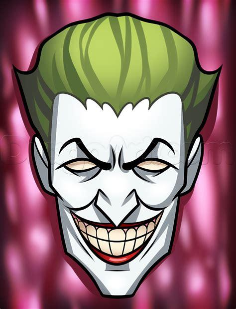 comic book villain drawing lesson  joker step  step