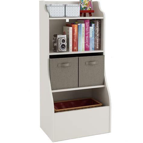 Kids Bookcase  Toy Storage Bin In Kids Furniture