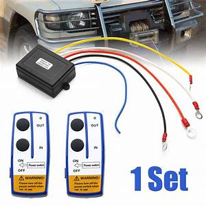 Car Styling 12v 50ft Winch Wireless Remote Control Switch