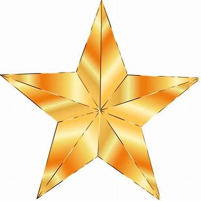Star Golden Clipart Clip Jesus Gold Reason