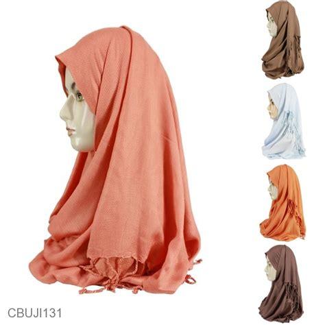 jilbab pashmina kashmir pilihan  terbaik