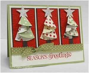 Inkspired Treasures Folded Christmas Tree