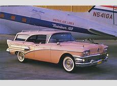1958 Buick Centruy Caballero Estate Wagon Photo Picture