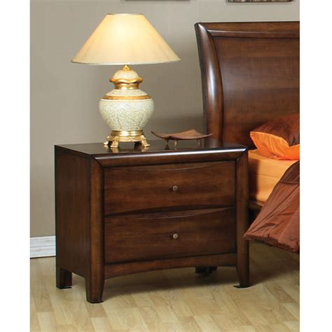 Simple Nightstand by Bedroom Simple Stand Nightstand Wood Warm