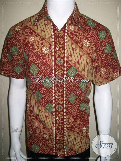 style baju terbaru baju batik cowok elegan kemeja batik