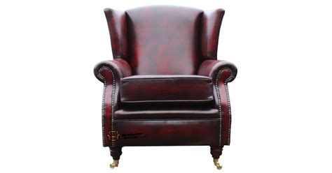 Southwold Wing Chair Fireside High Back Leather Armchair