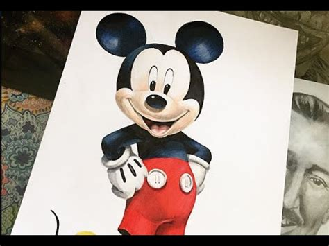 drawing disney mickey mouse youtube