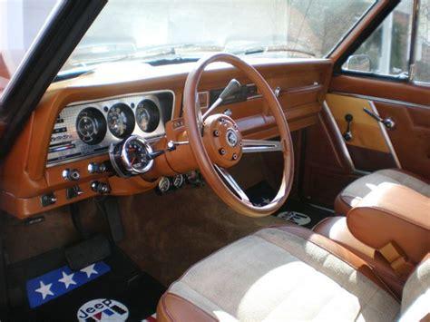 jeep cherokee chief interior 1983 jeep cherokee chief sport dream truck pinterest