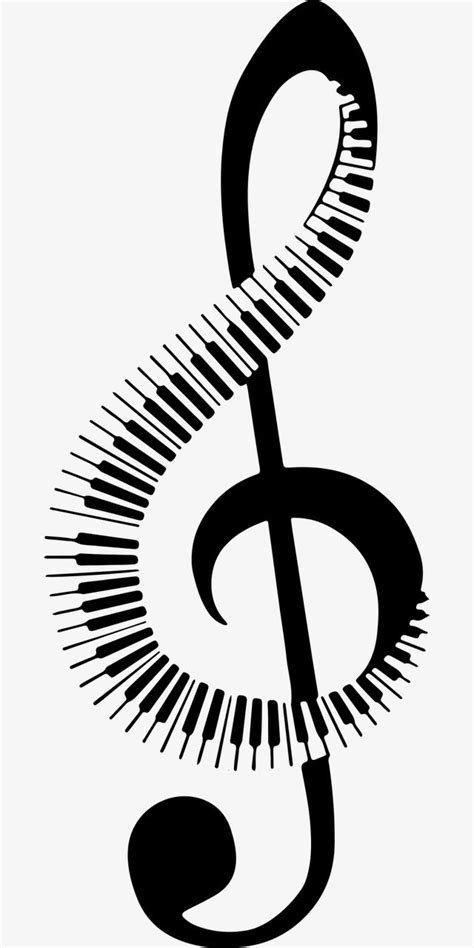 Musical Note, Piano Keys, Music, Symbol PNG Transparent