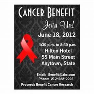 1000+ images about Fundraiser Benefit Flyers For Cancer ...