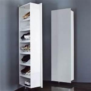 Rangement Chaussures Pas Cher : rangement chaussures pivotant ~ Farleysfitness.com Idées de Décoration