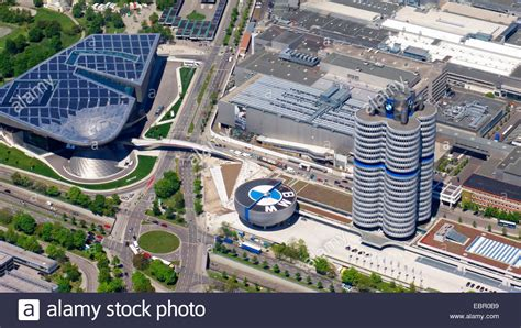 Bmw Welt by Aerial View To Bmw World Bmw Museum And Bmw Four Cylinder