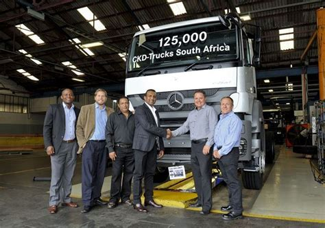 The company acquired a manufacturing plant in east london which has been building vehicles in south africa for over 65 years. Mercedes-Benz SA celebrates 125 000th truck to roll off its East London plant assembly line ...