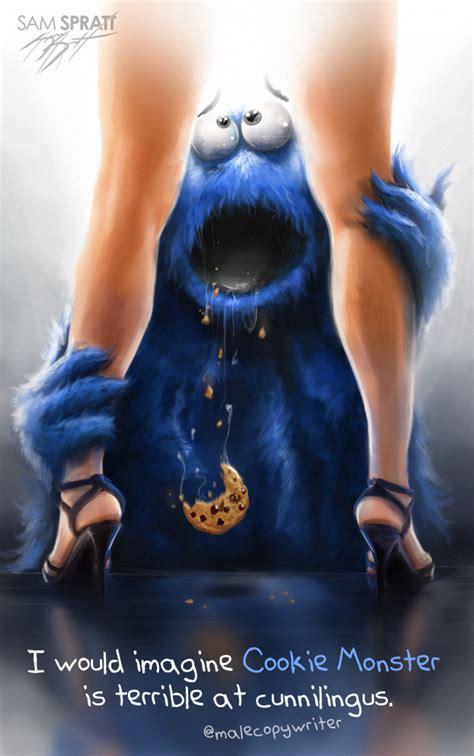 Eating Pussy Like Monster