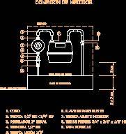 Gas Meter DWG Detail for AutoCAD • Designs CAD