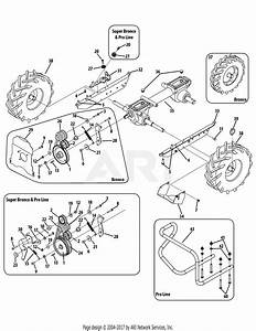 Wiring Diagram  11 Troy Bilt Super Bronco Tiller Parts Diagram